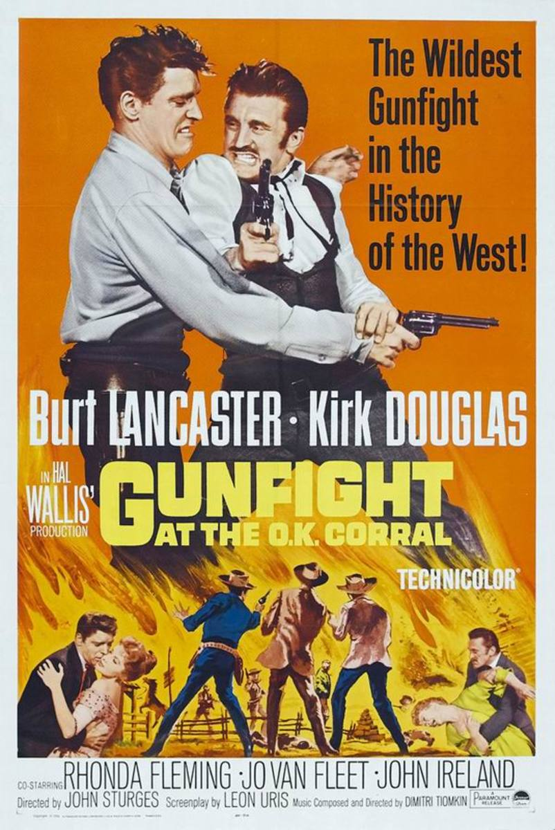 Gunfight at the OK Corral (1957) poster
