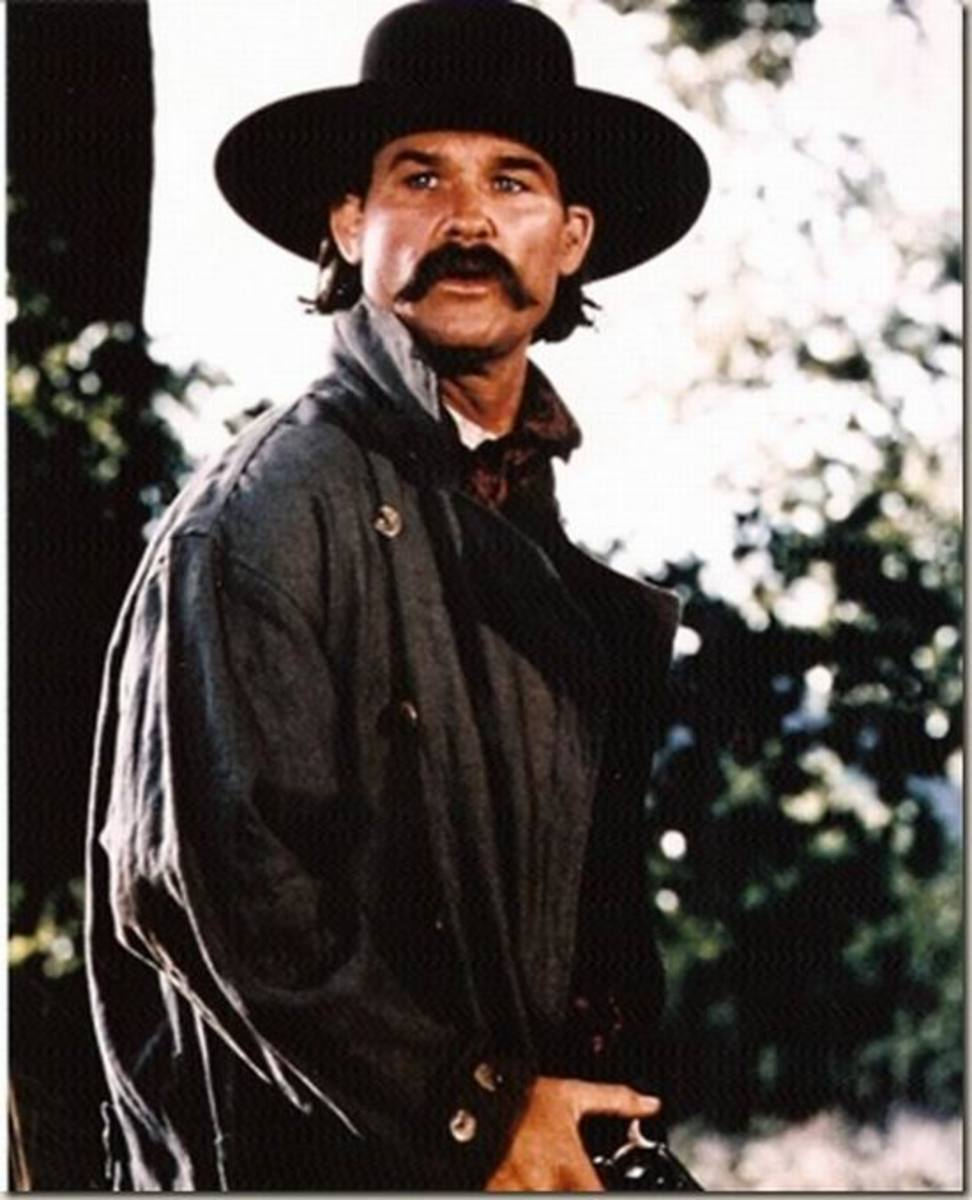 Kurt Russell as Wyatt Earp in Tombstone
