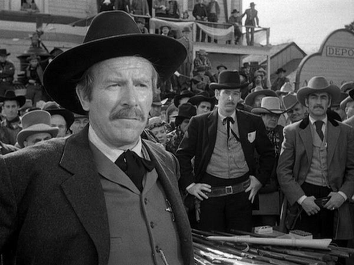 Will Geer as Wyatt Earp in Winchester 73 (1950)