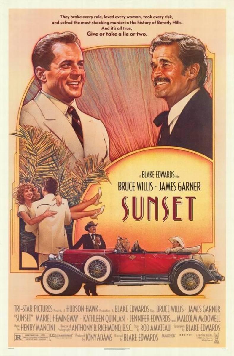 Sunset (1988) poster