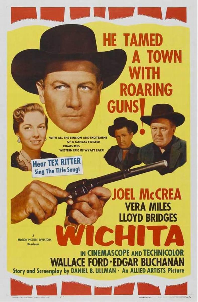Wichita (1955) poster