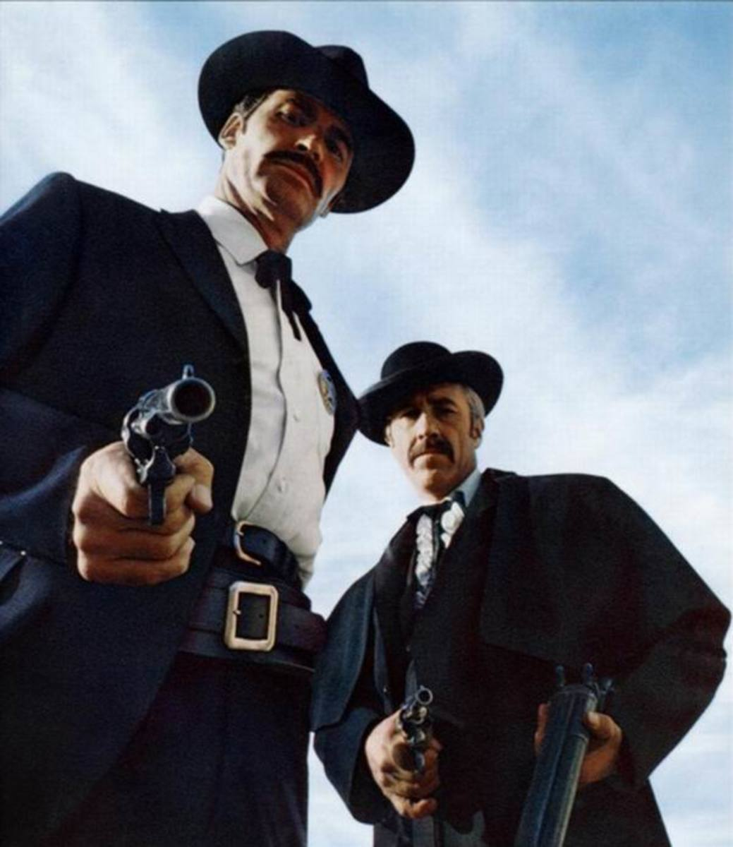 James Garner and Jason Robards in Hour of the Gun