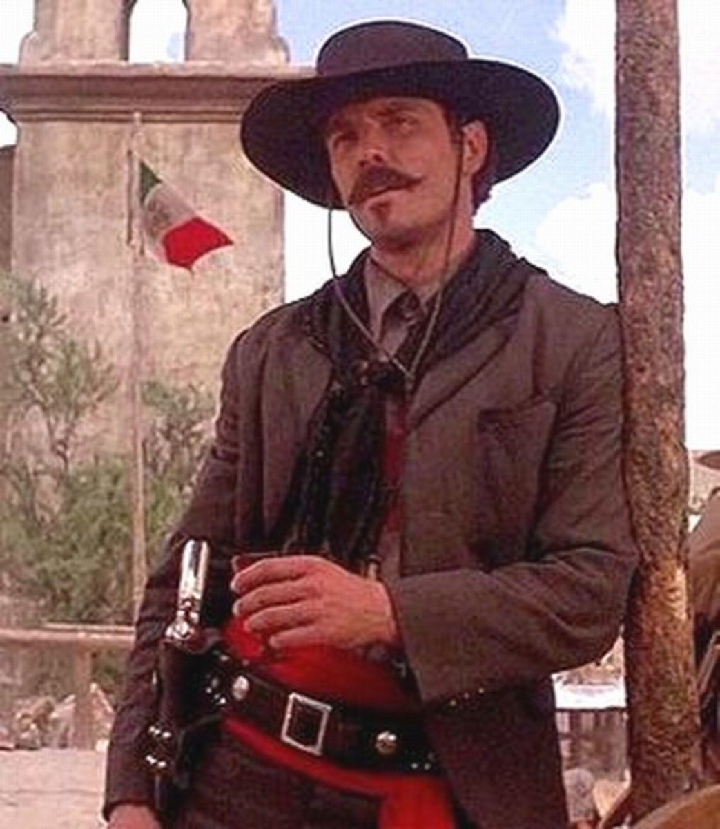 Michael Biehn as Johnny Ringo in Tombstone