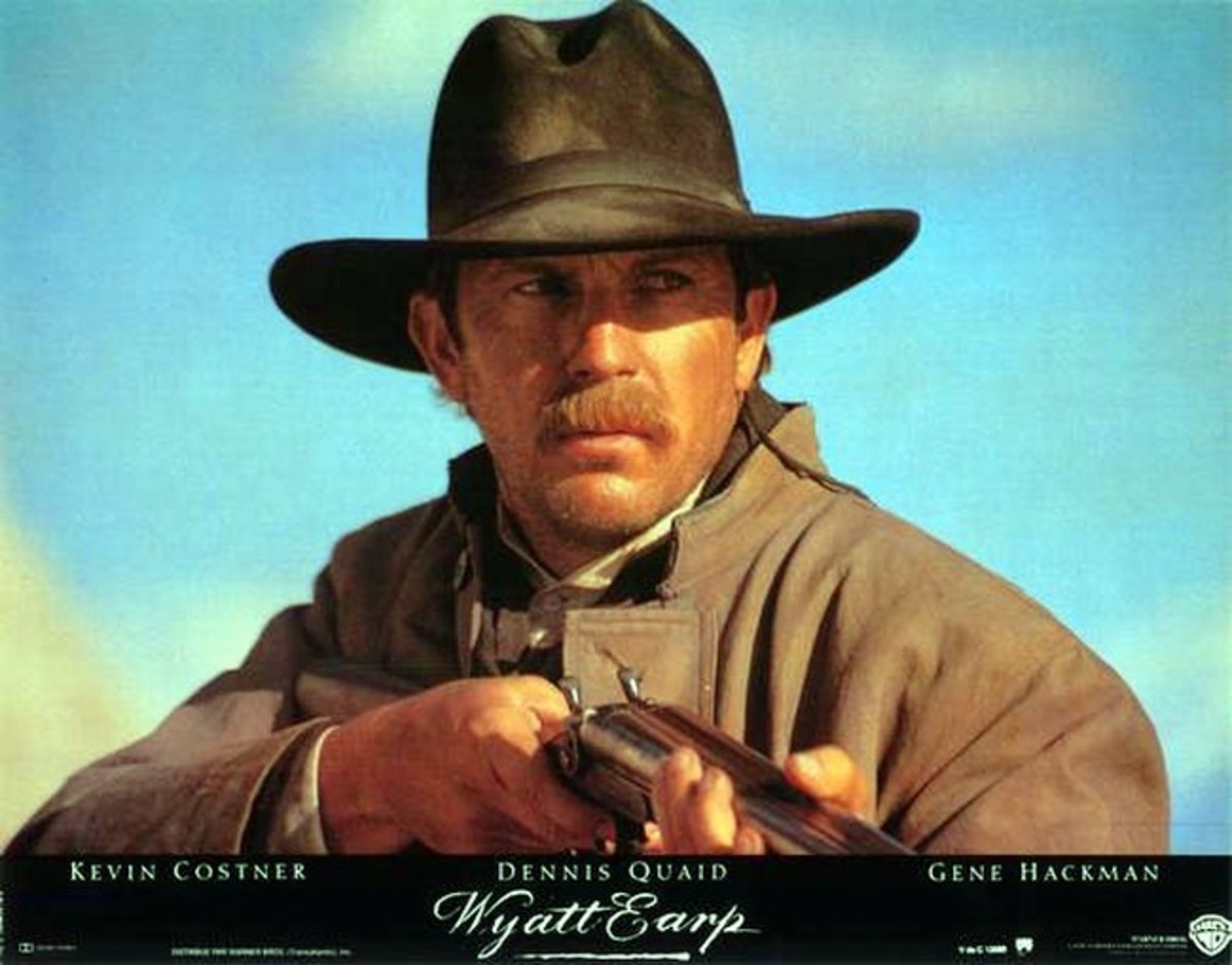 Kevin Costner as Wyatt Earp (1994) lobby card