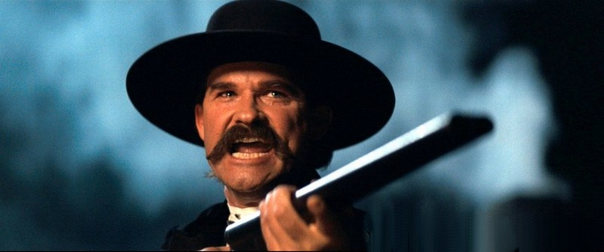 """""""... you hear? Hell's coming with me!"""" Kurt Russell in Tombstone"""