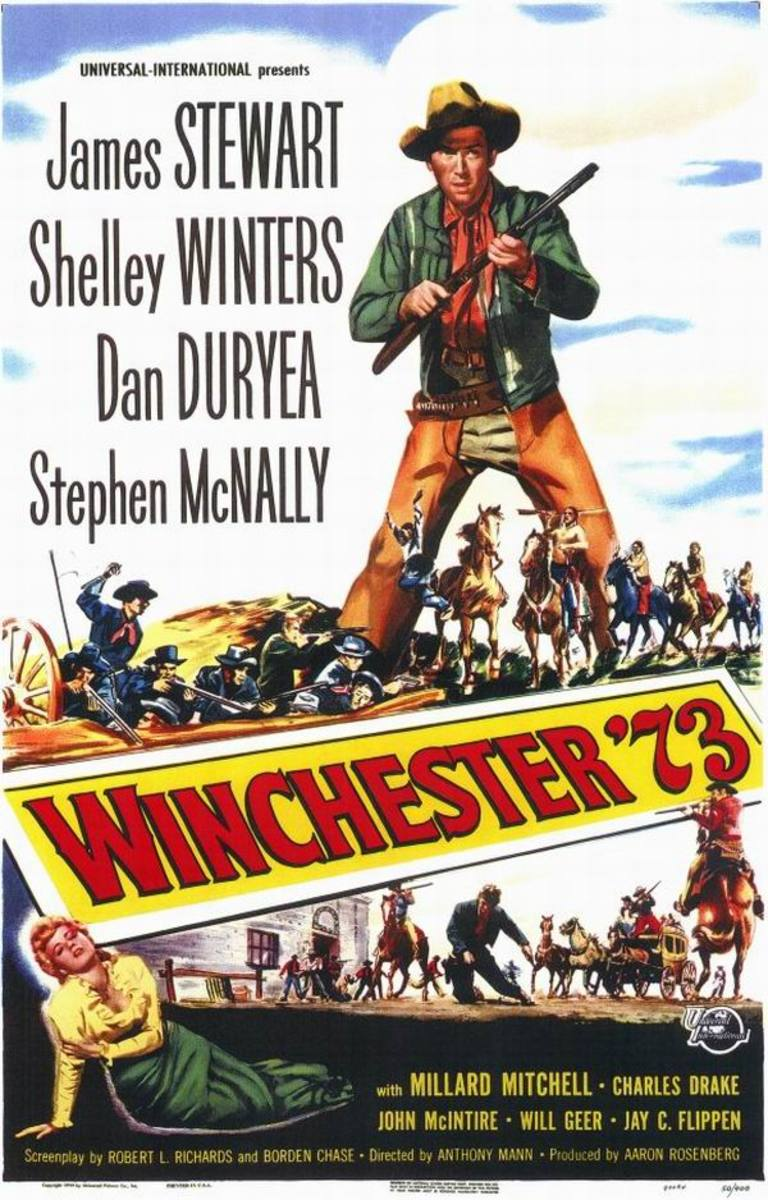 Winchester 73 (1950) poster