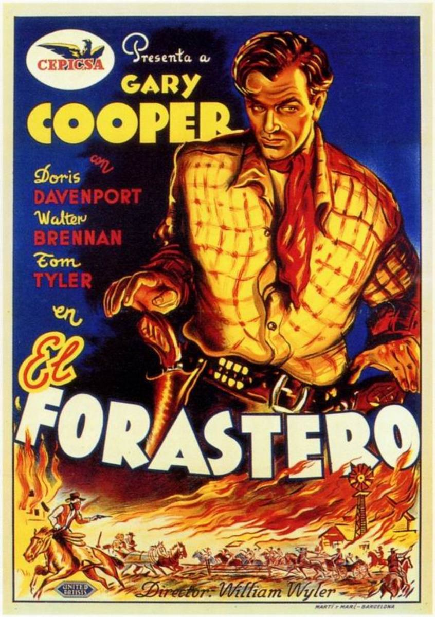The Westerner (1940) Spanish poster