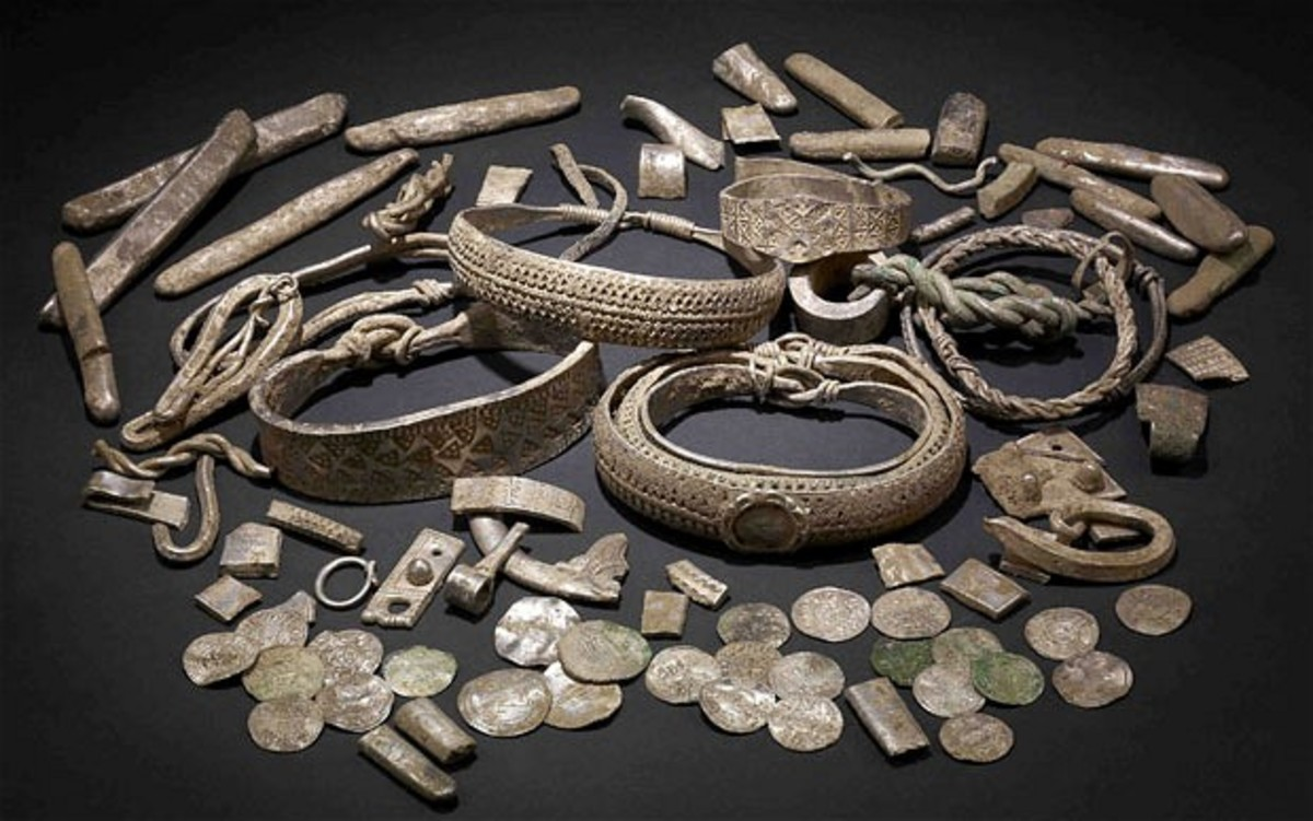 More of the Ballaquayle hoard - the finds include 78 coins minted in England