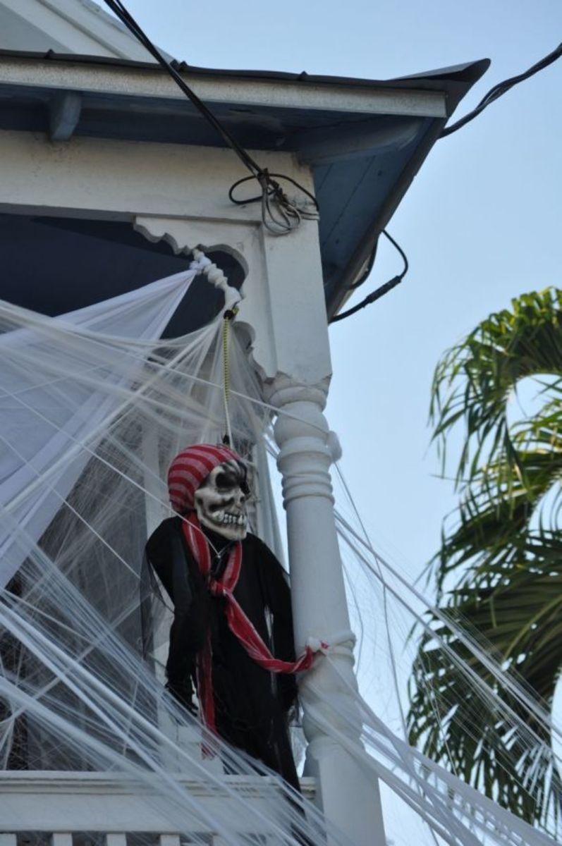 Arrr...a Halloween pirate, matey