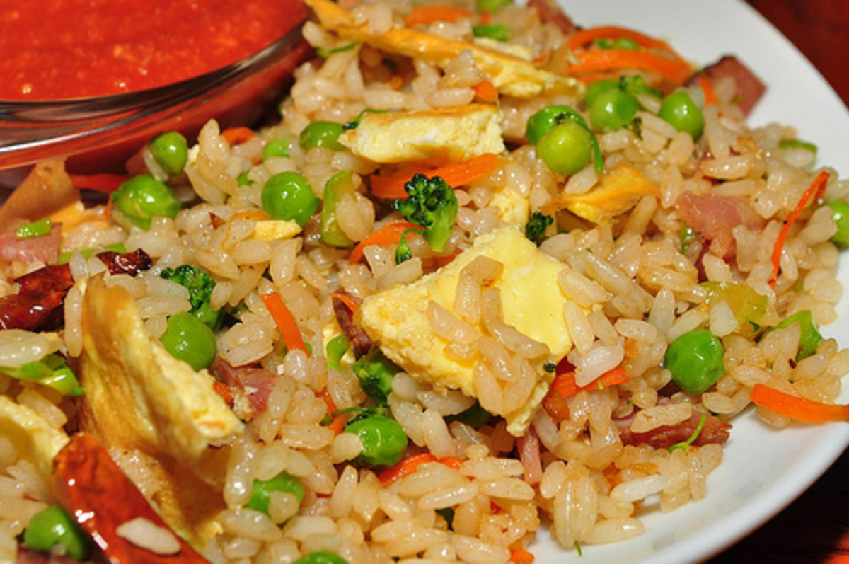 Easy Rice Dishes Recipes