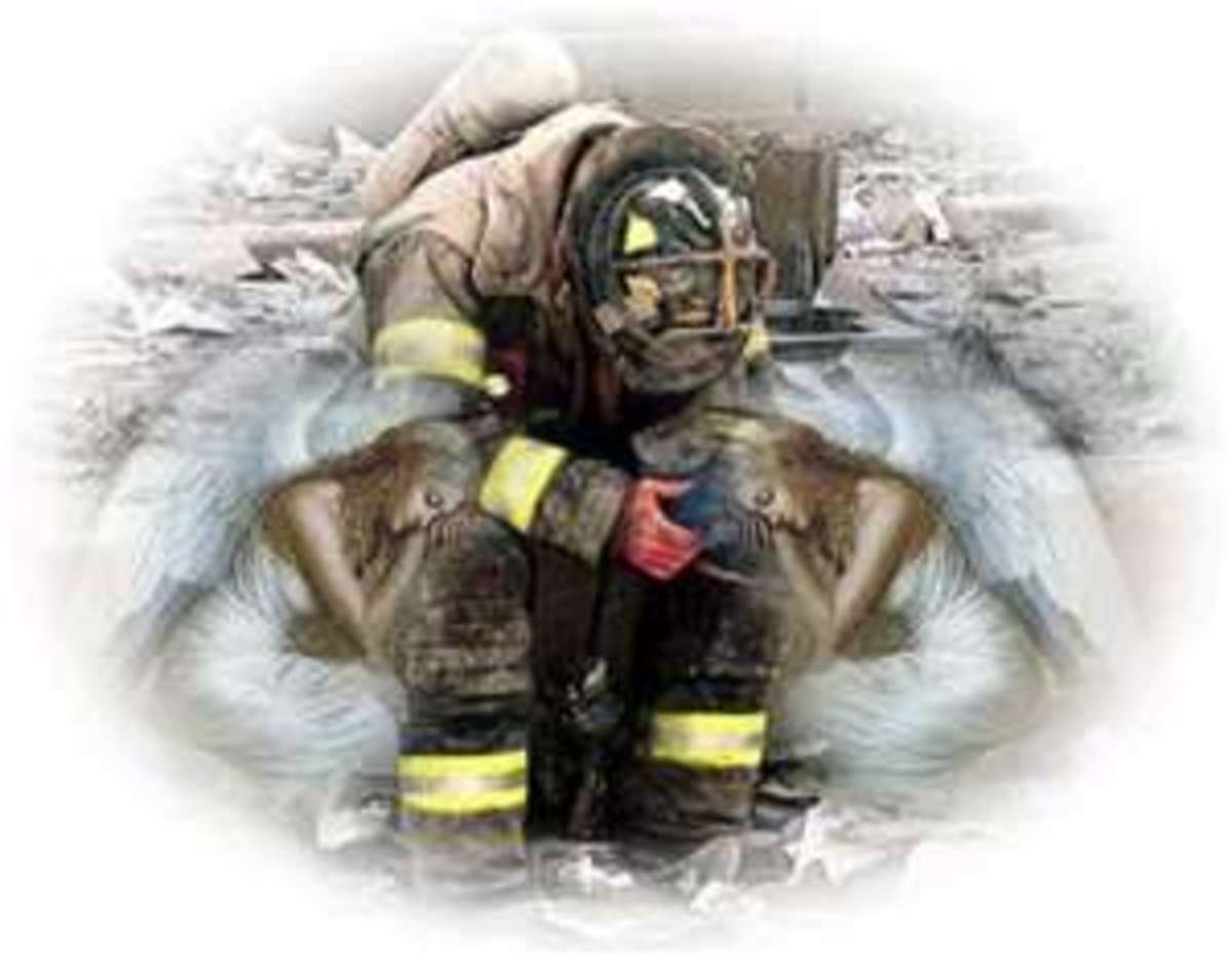 When faced with what we see every day some firefighters break down under the stress.