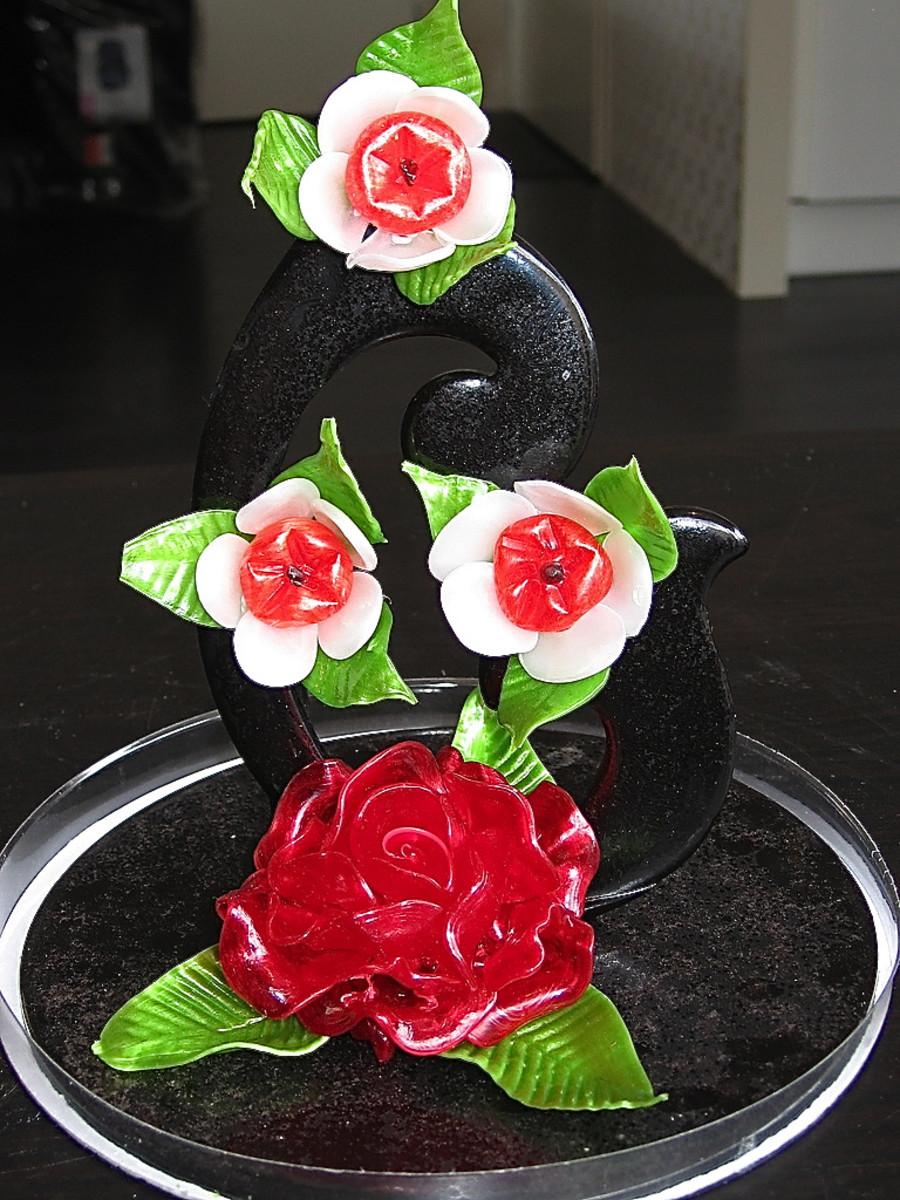 Sugar (Isomalt) Roses