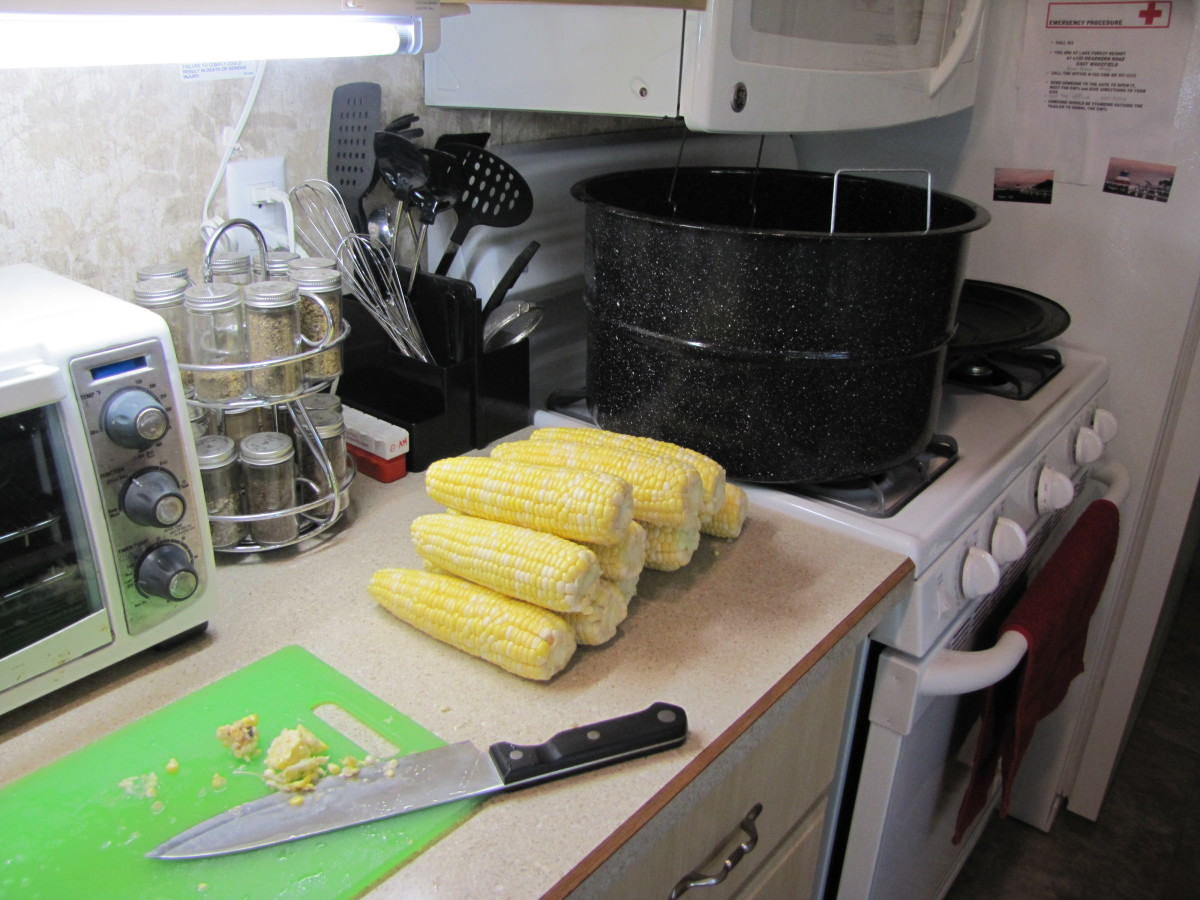 Get farm fresh corn from the nearest farm stand.