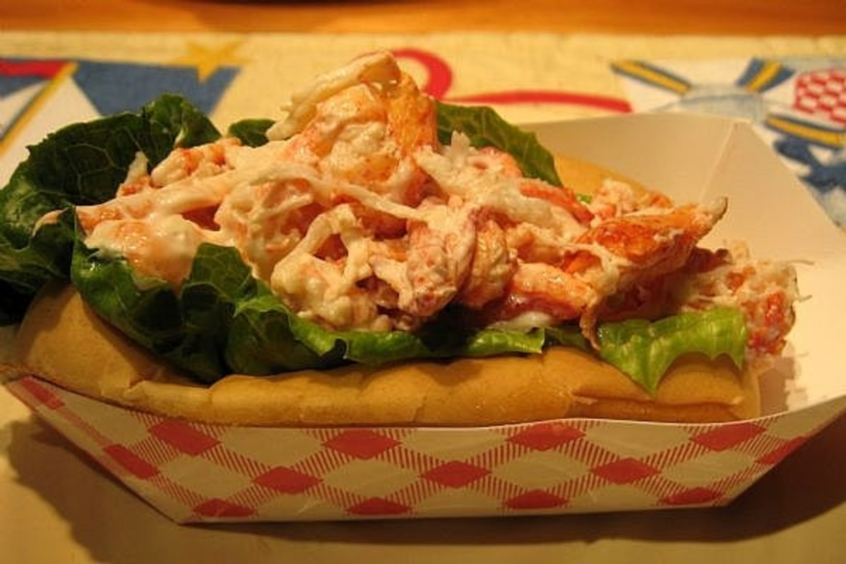 For the lobster roll, mix it with a little mayo and serve on the toasted roll like New Englanders use for hot dogs.