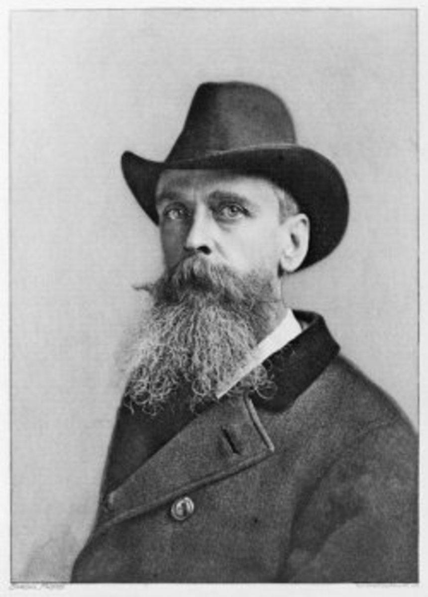 Photo of Thomas Moran By Napoleon Sarony (1821-1896)