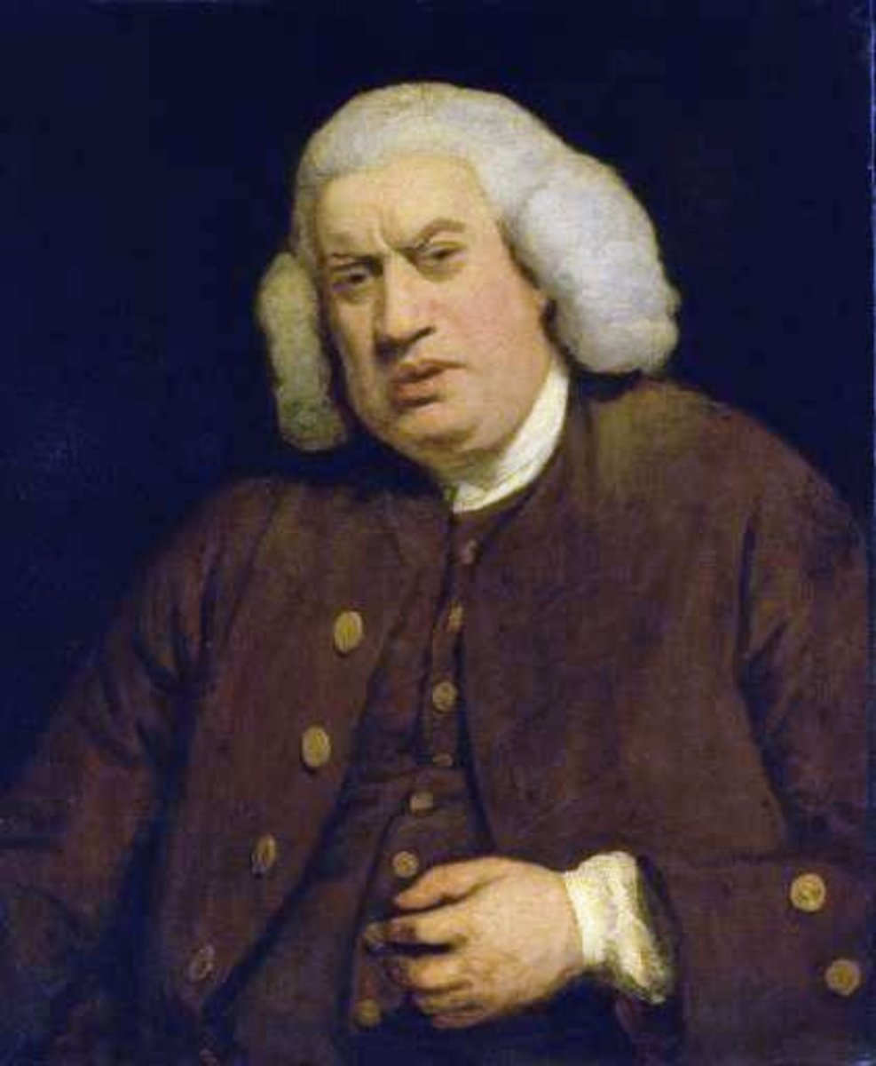 "Samuel Johnson who coined the term ""metaphysical poets."""
