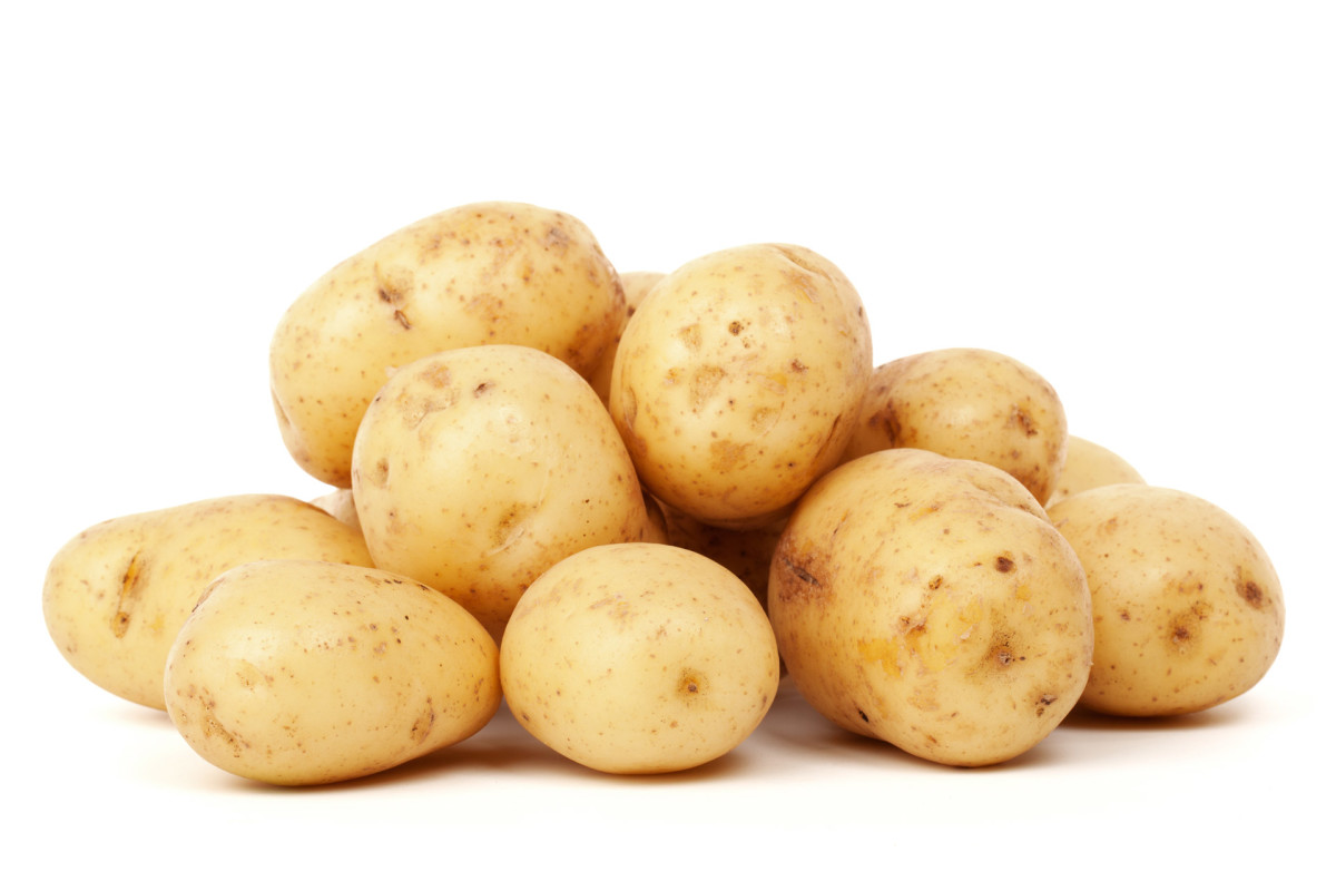 Select fresh potatoes to make your homemade potato chips.