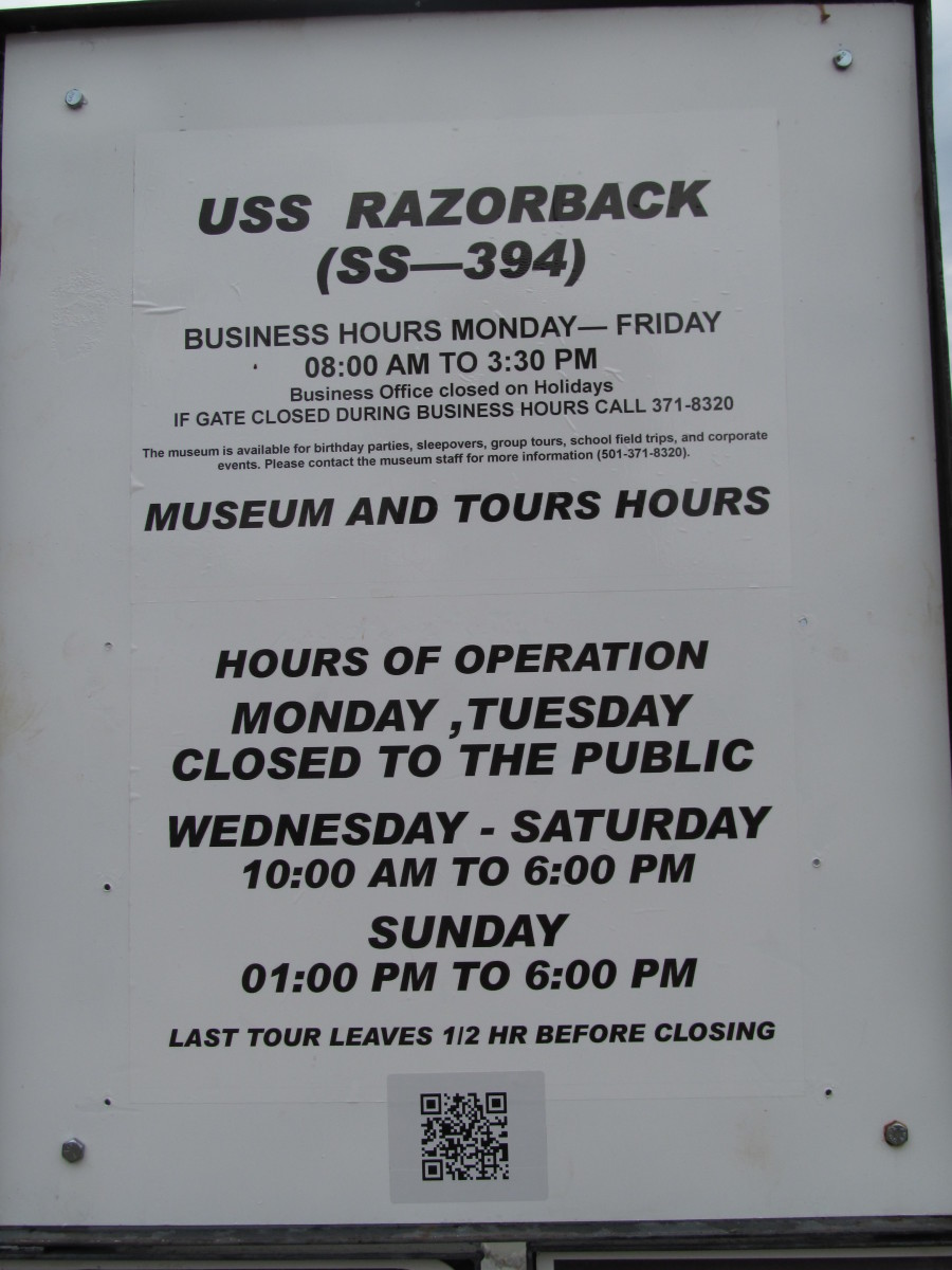 Days and hours of operation