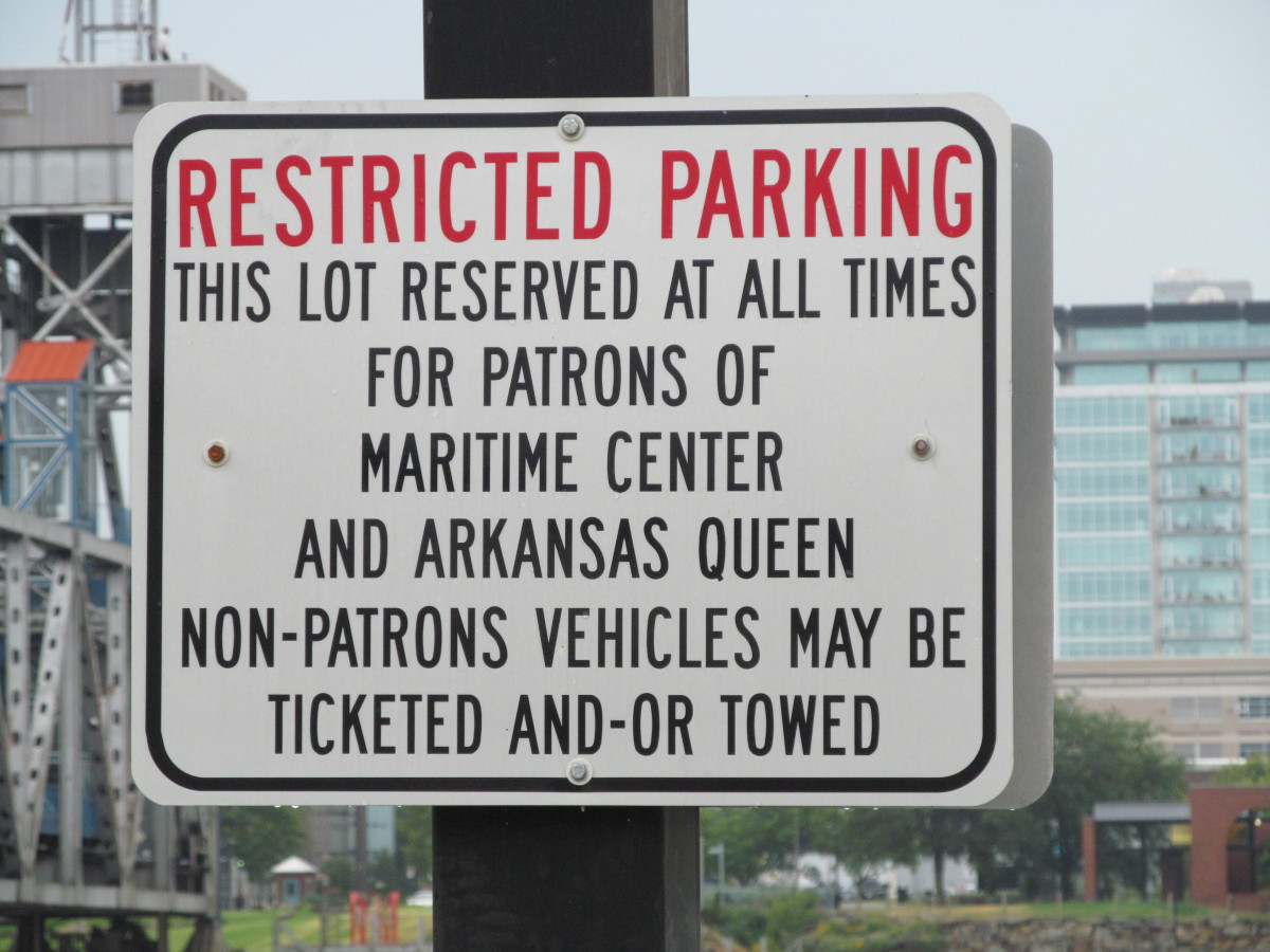 Parking is restricted. There are so many activities and things to do, sometimes parking becomes a creative endevor