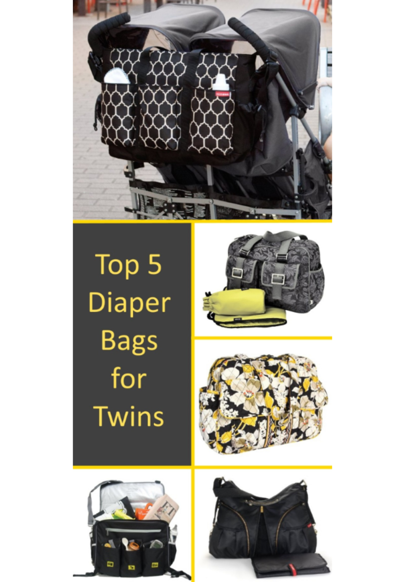 Best Diaper Bags for Twins, Two Kids & Multiple Children | 2015 Reviews