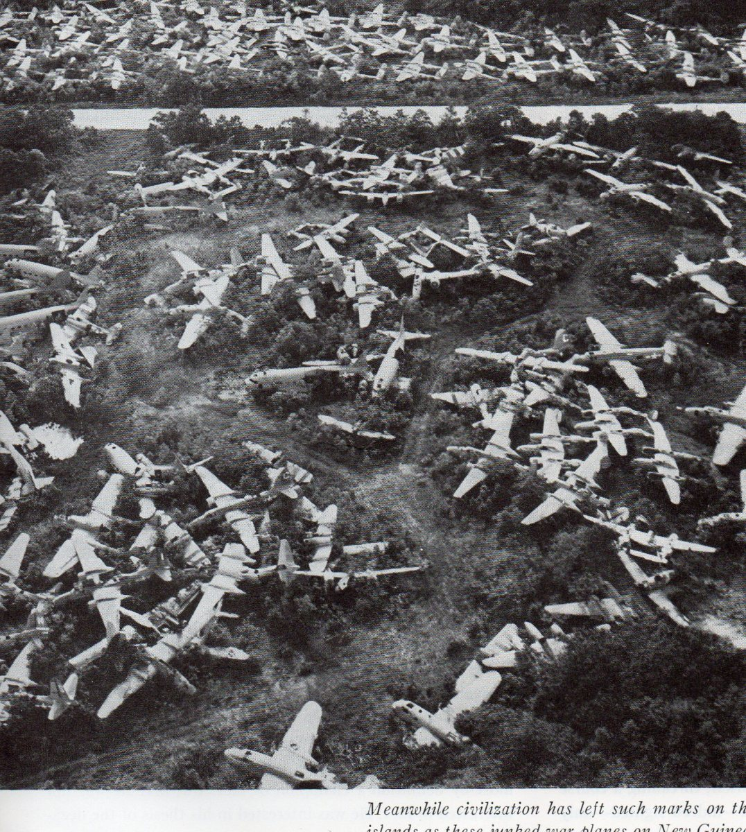 Aircraft Graveyards, Junkyards, Bone Yards & Cemeteries