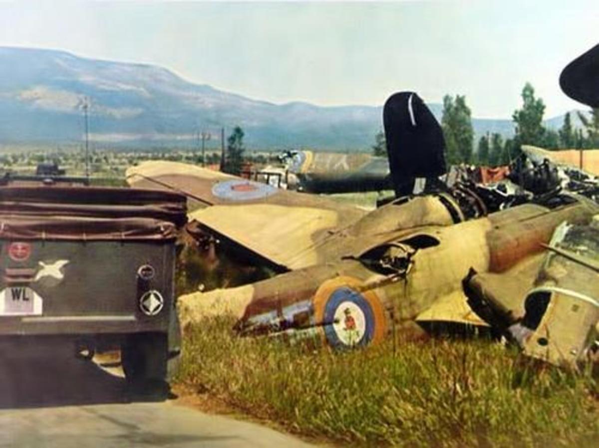 British Aircraft Graveyard