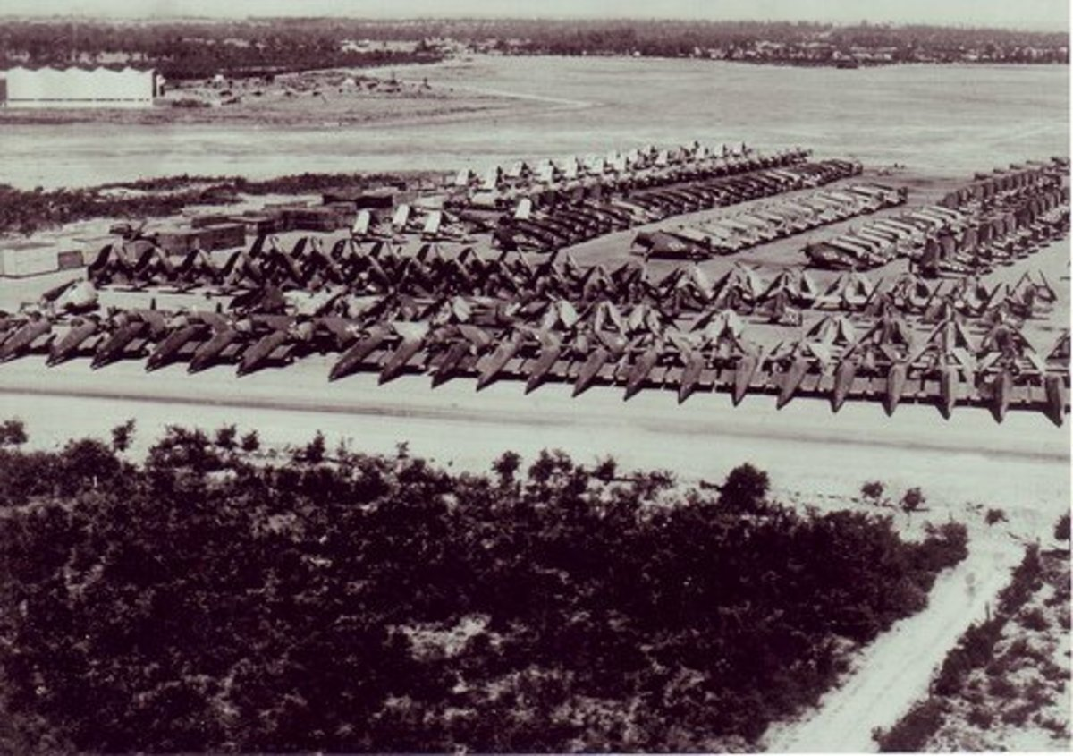 Leased British Pacific Fleet Boneyard