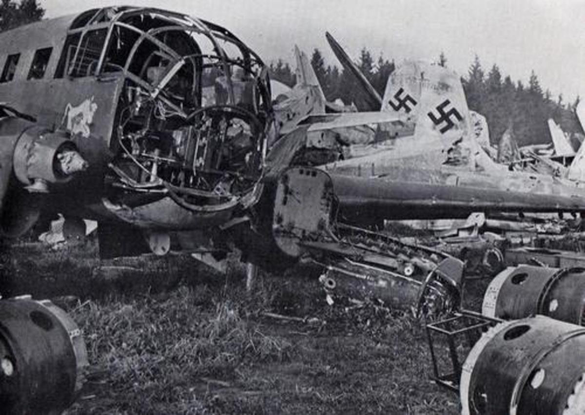 German Airplane Graveyard