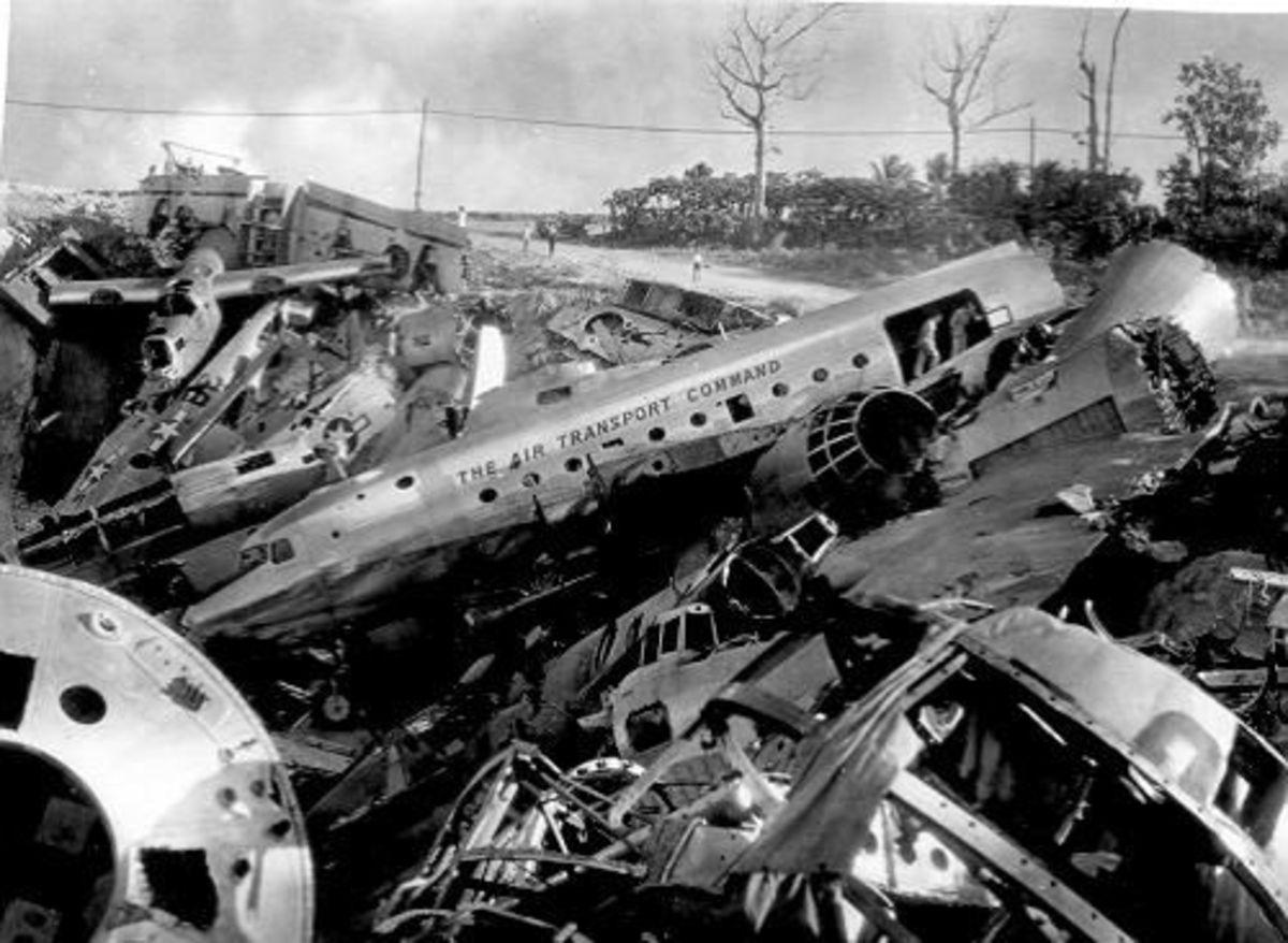 Aircraft graveyards junkyards bone yards amp cemeteries mothballed