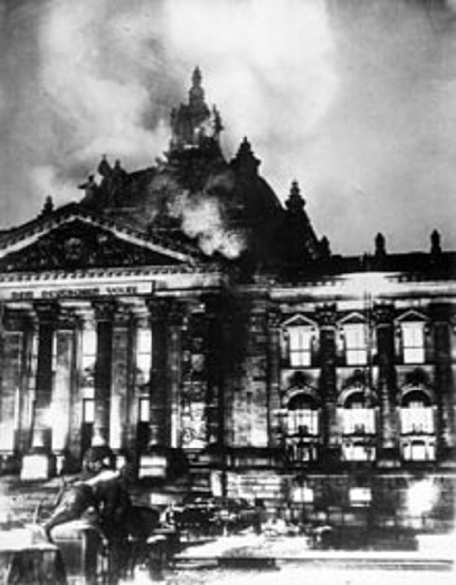 The Reichstag Fire of February 27th 1933.