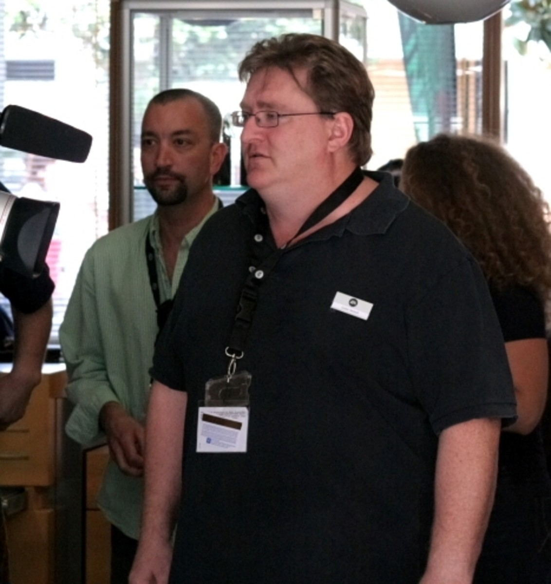 Gabe Newell, owner and Managing Director of Valve