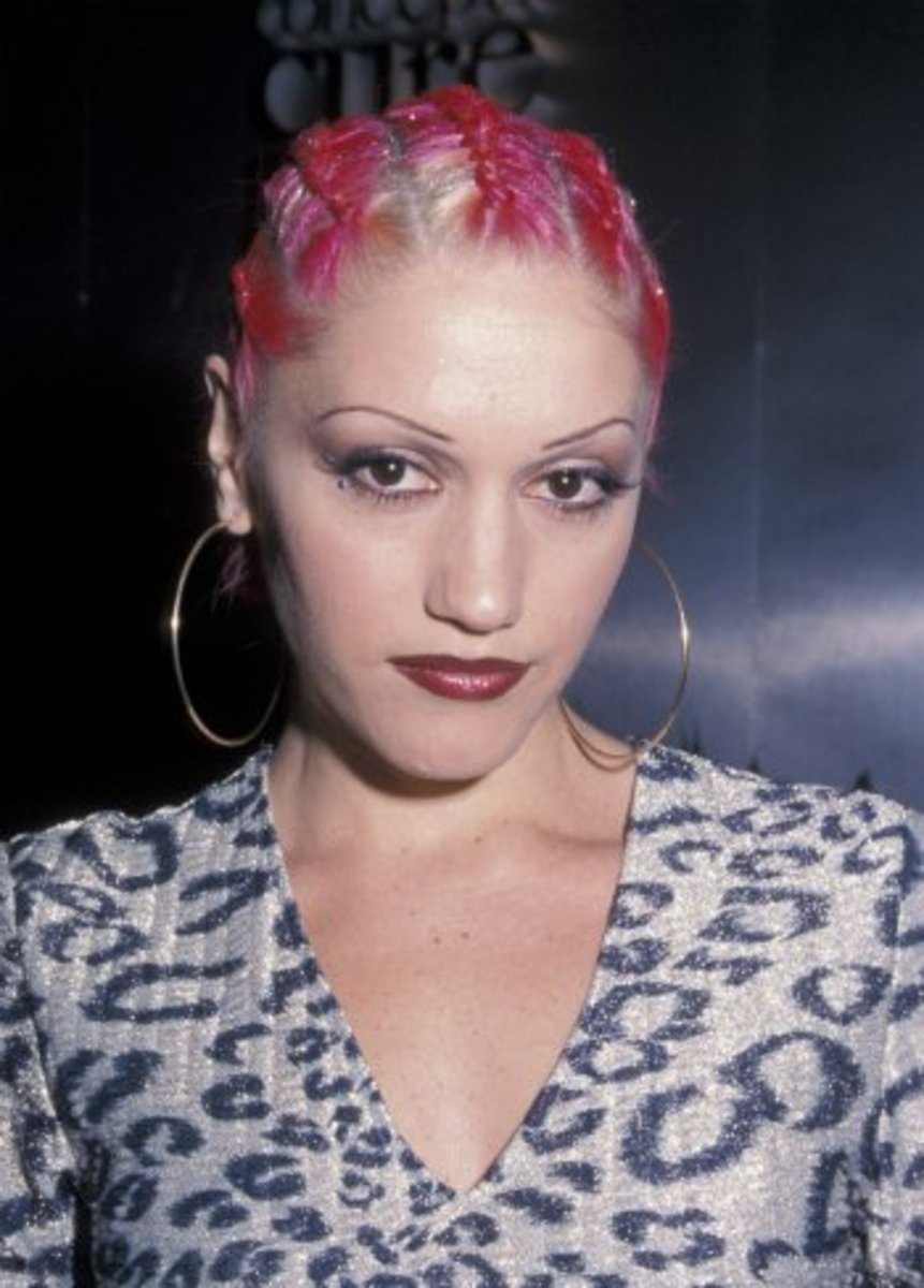Gwen Stefani with Cornrows in 2000.