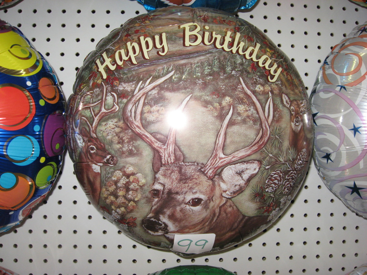 Deer Balloon