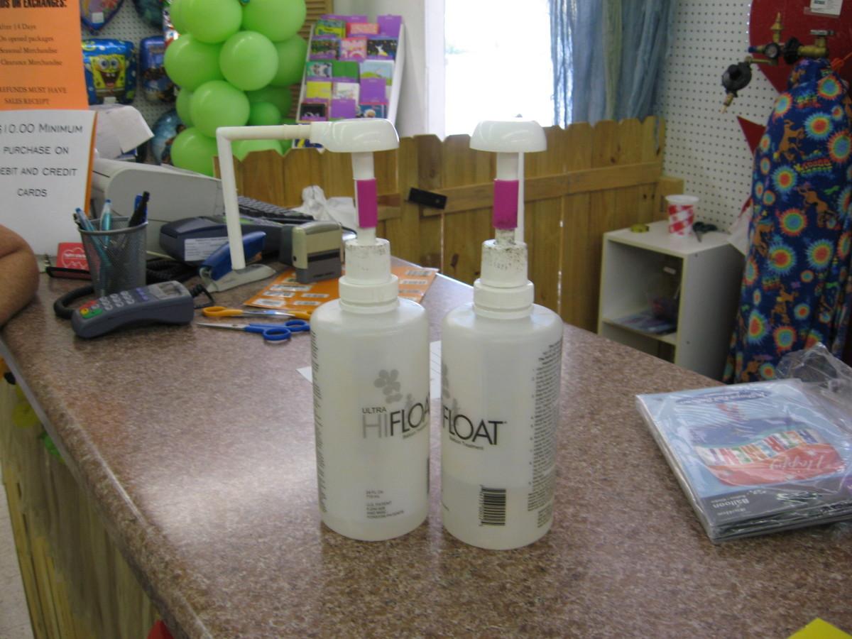 Helium balloons last longer with Hifloat.