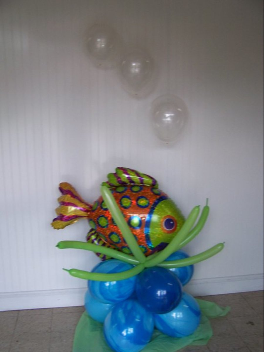 one of mandy's balloon sculptures