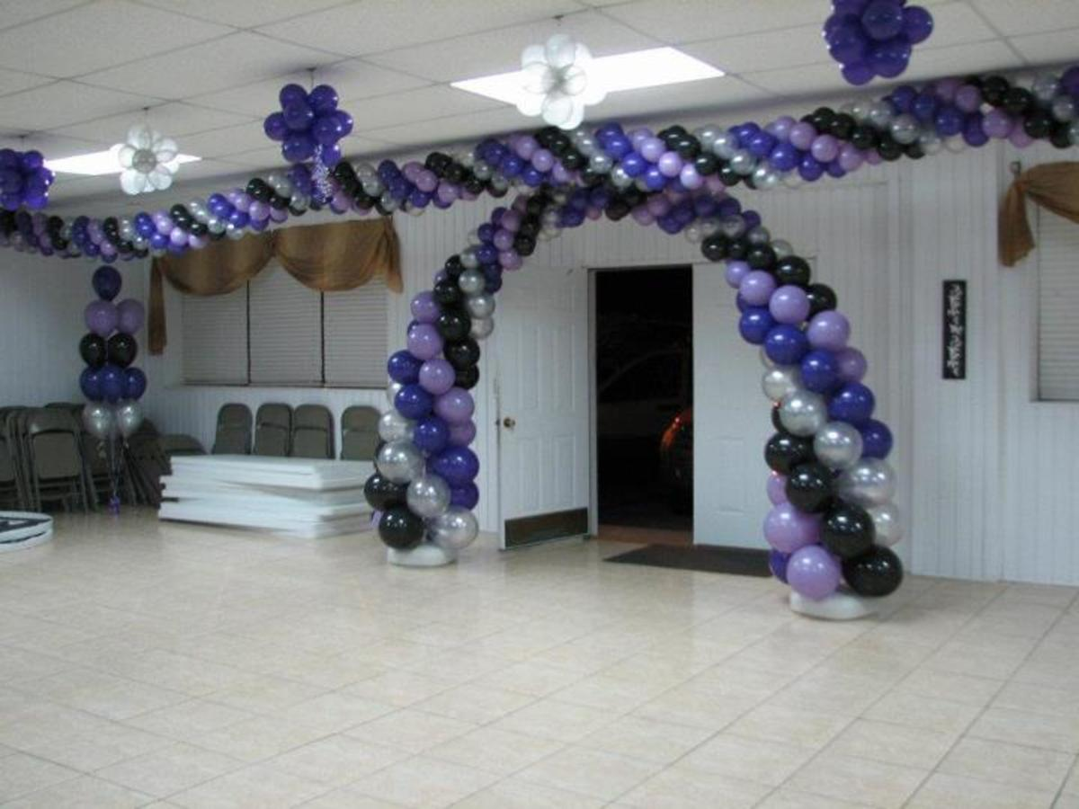 Balloon Arches can be huge!