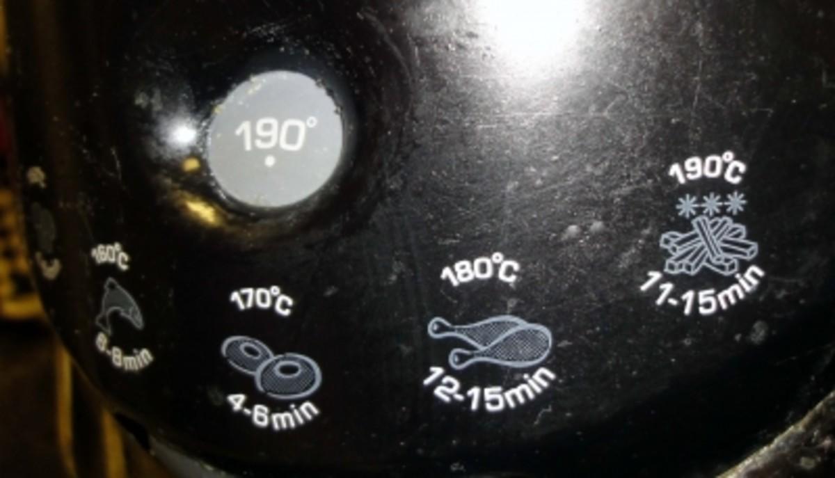 Deep Fat Fryer Temperature Control