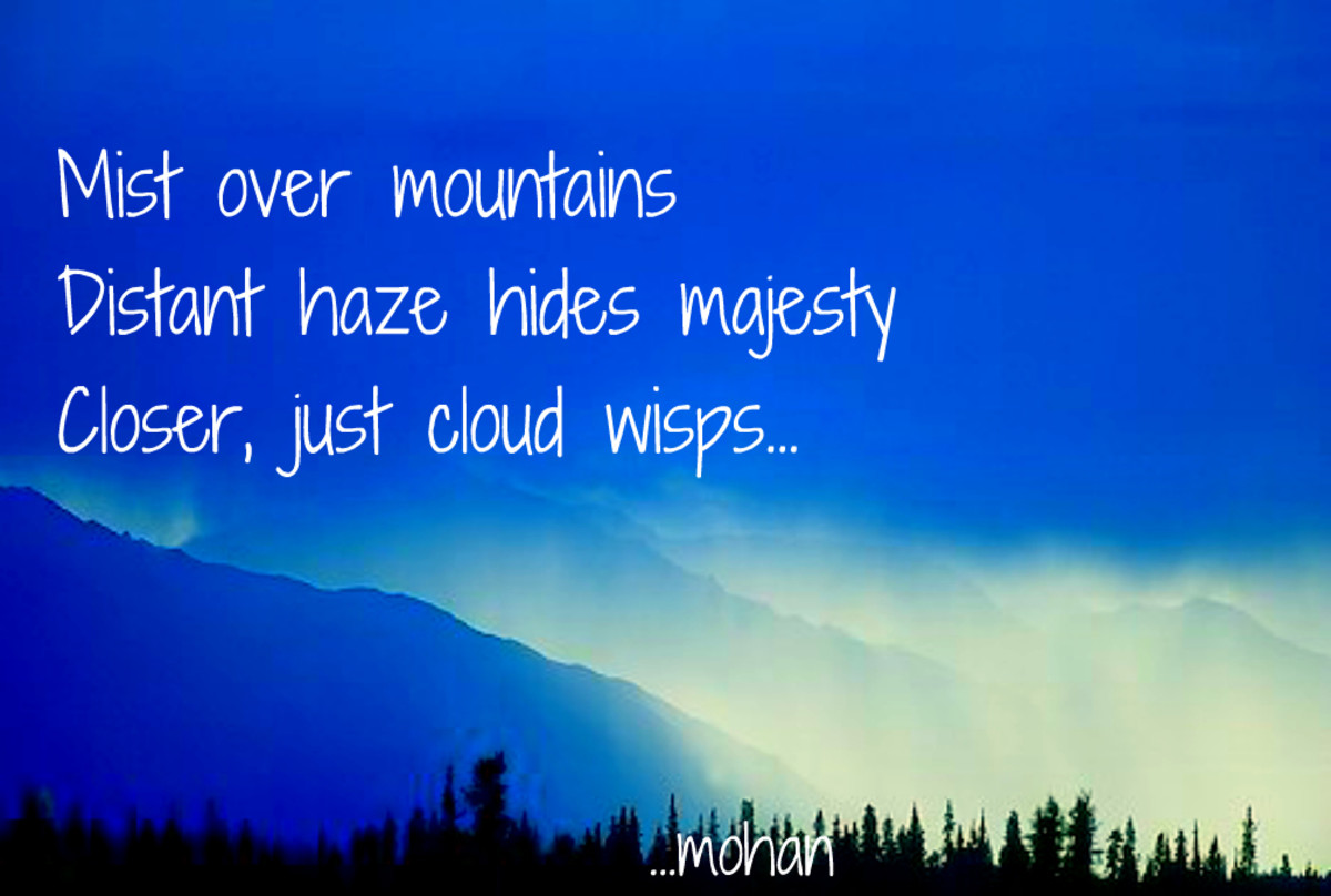 Haiga III: Cloud Wisps