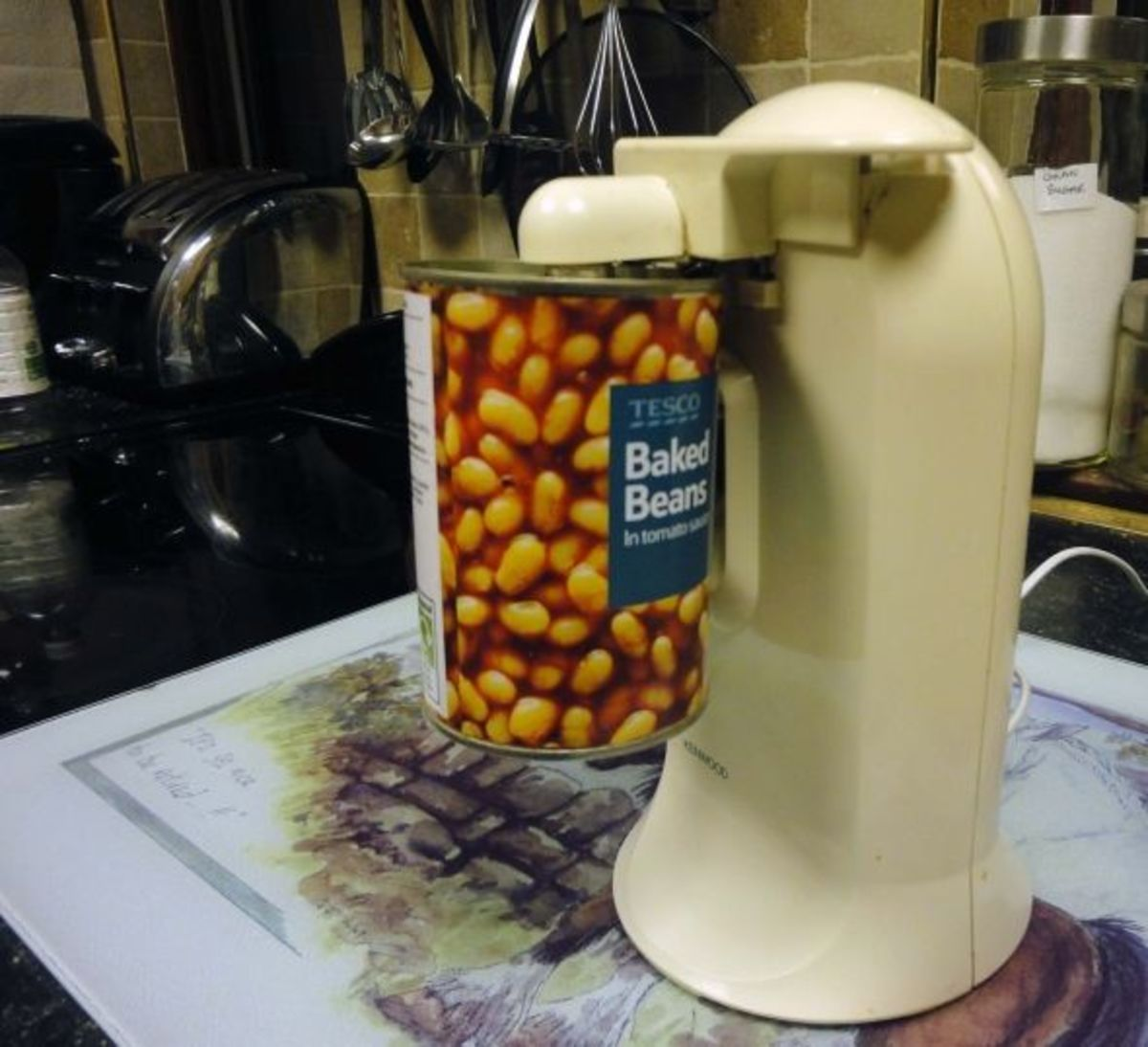 Review of the Kenwood as a Great Electric Can Opener