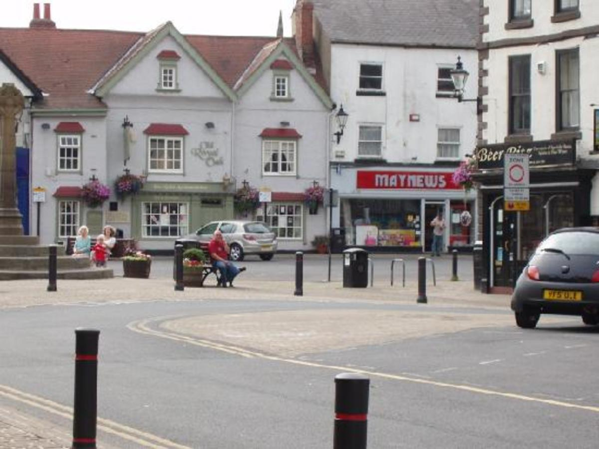 The Old Royal Oak in the town centre