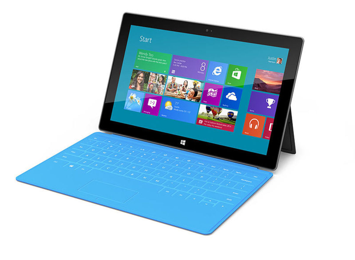 Microsoft Surface Tablets - What They Are And What Is The Difference Between The Windows RT And Windows 8 Pro Models