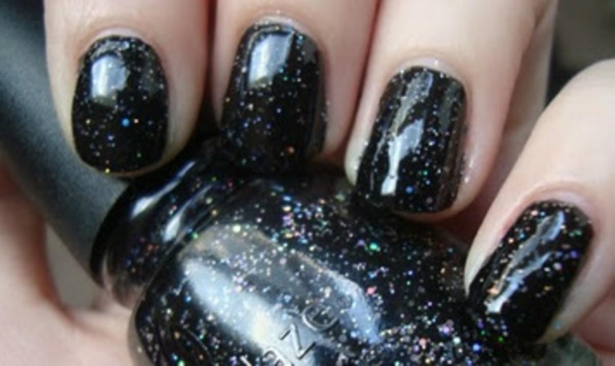 China Glaze Cosmic Black