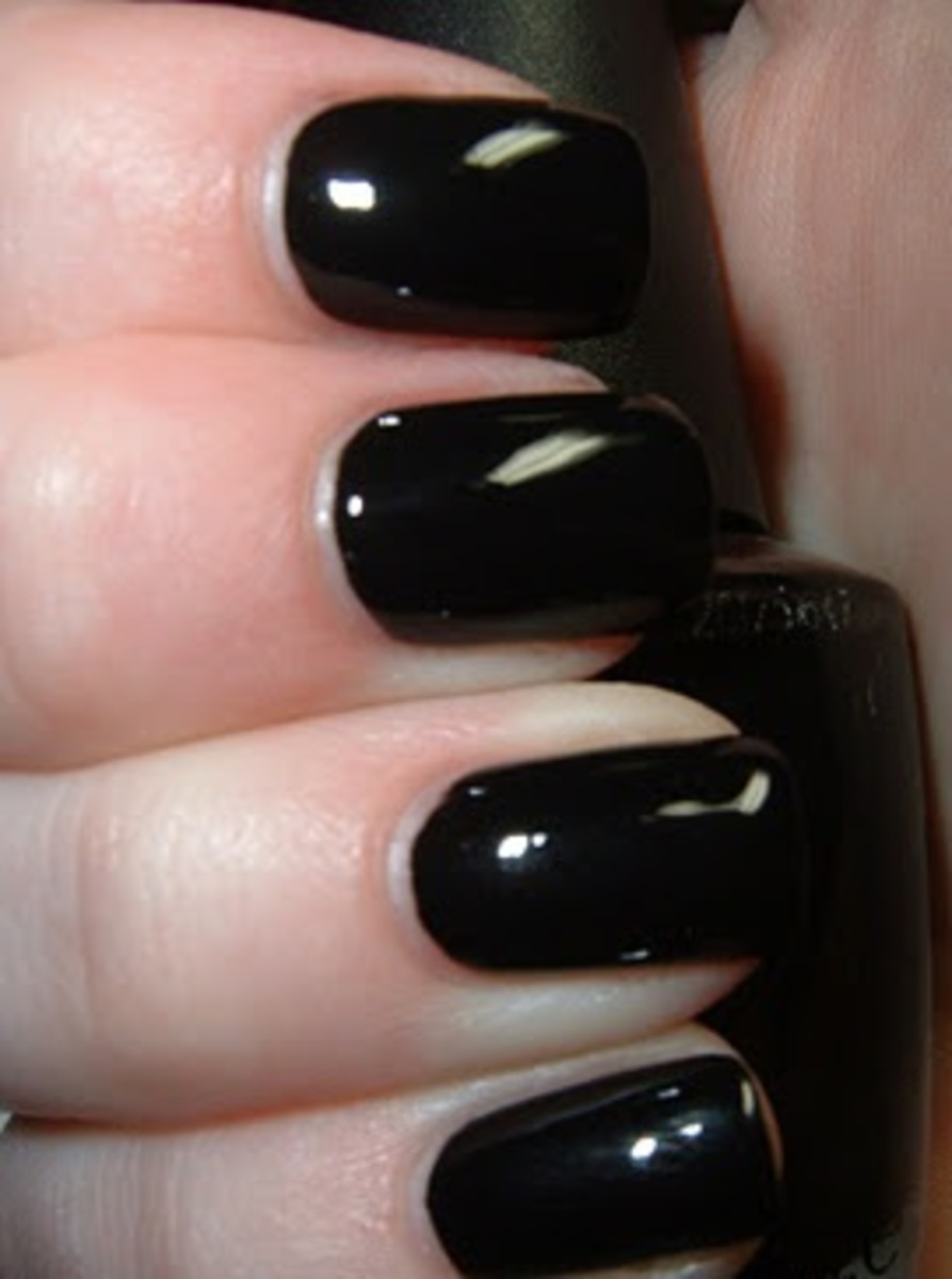 OPI Black Onyx