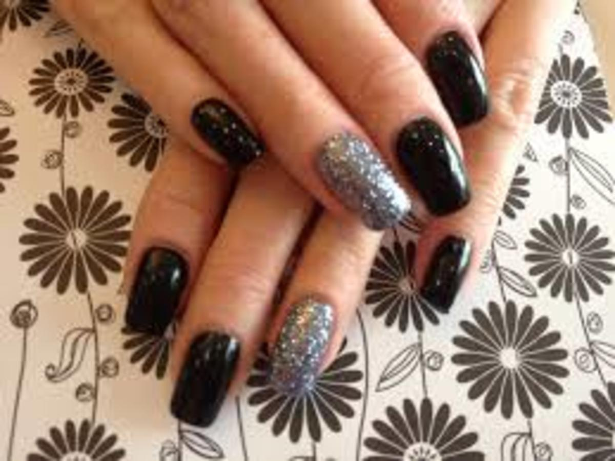 Beautiful Black Nail Polishes: A List of Shades and Brands