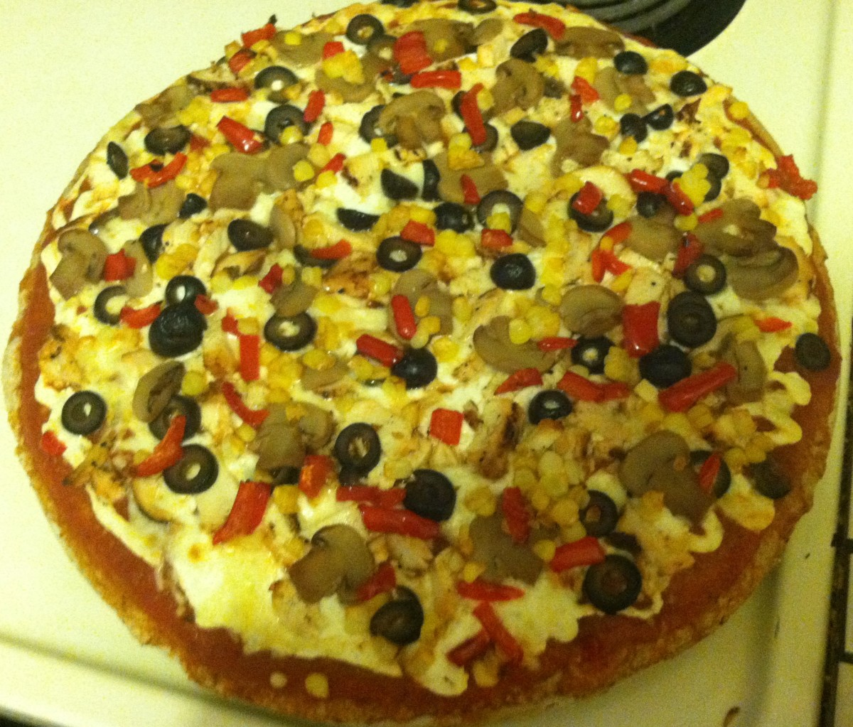 Cottage Cheese Pizza. A Heart Healthy and Low Fat Pizza Recipe
