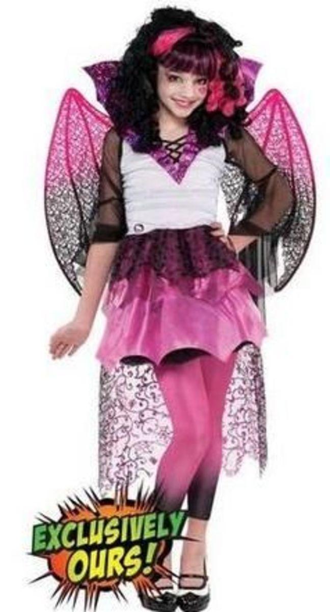 Monster high draculaura ghouls rule costume