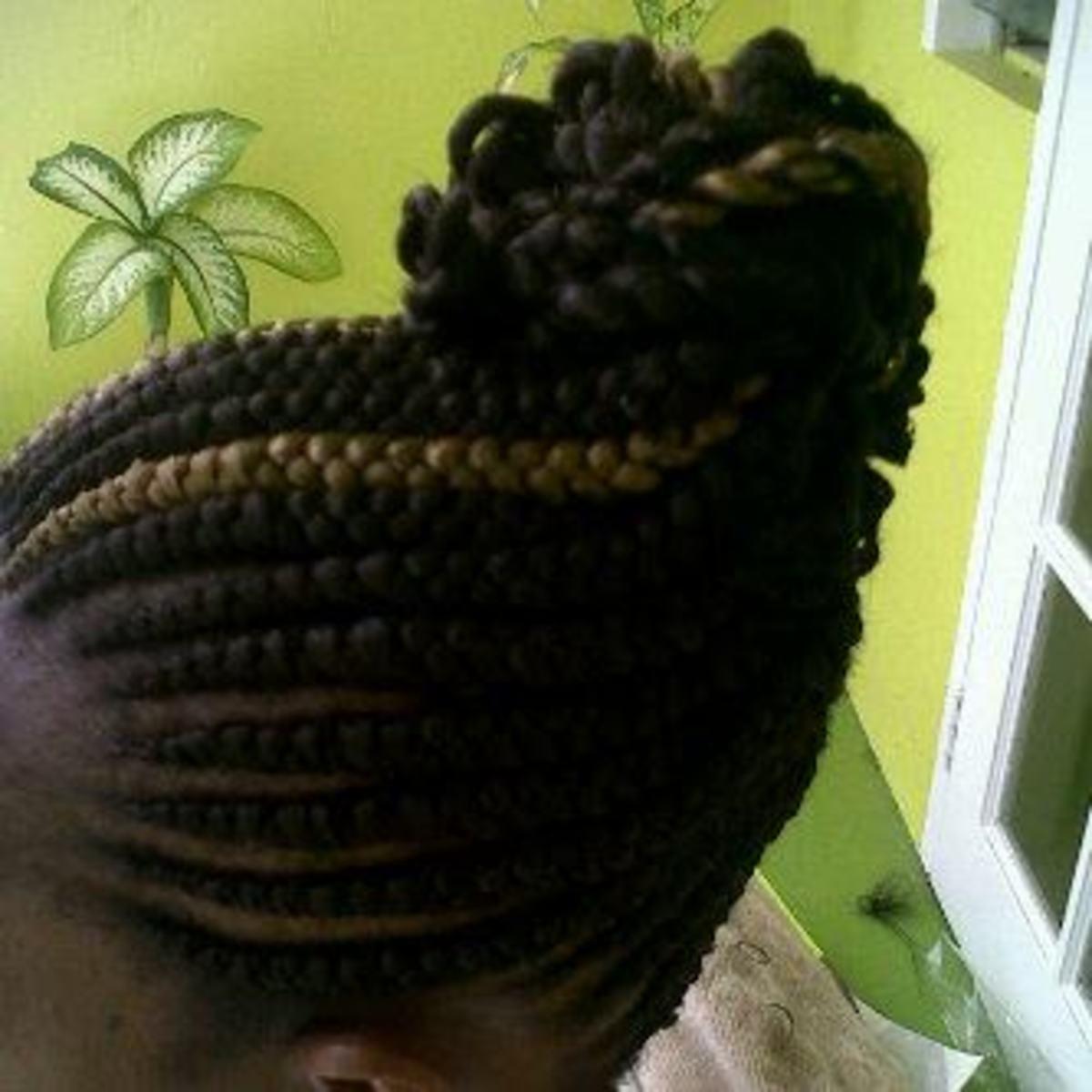 ghanaian braids