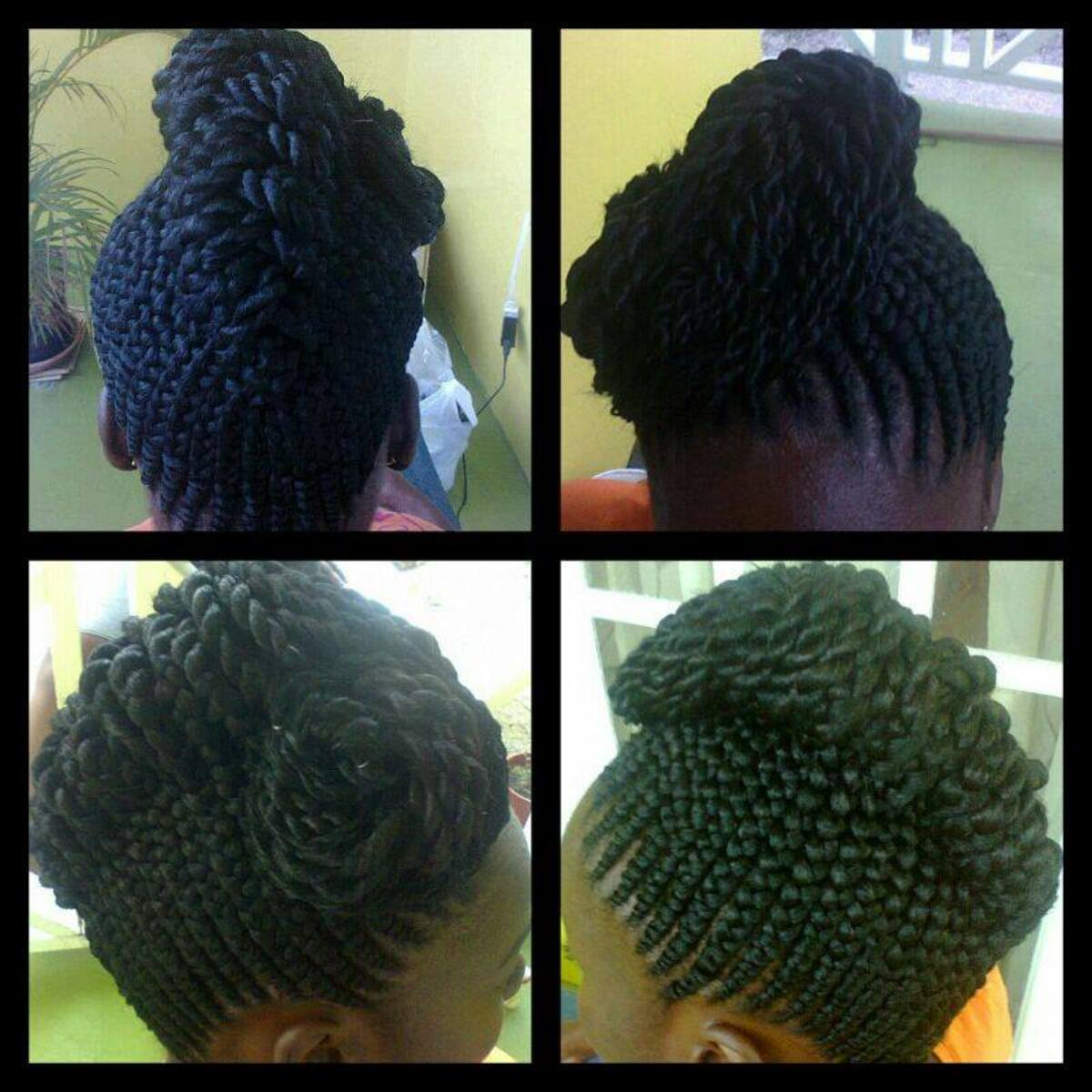 Ghanaian braids hairstyles (ghana braids styles)