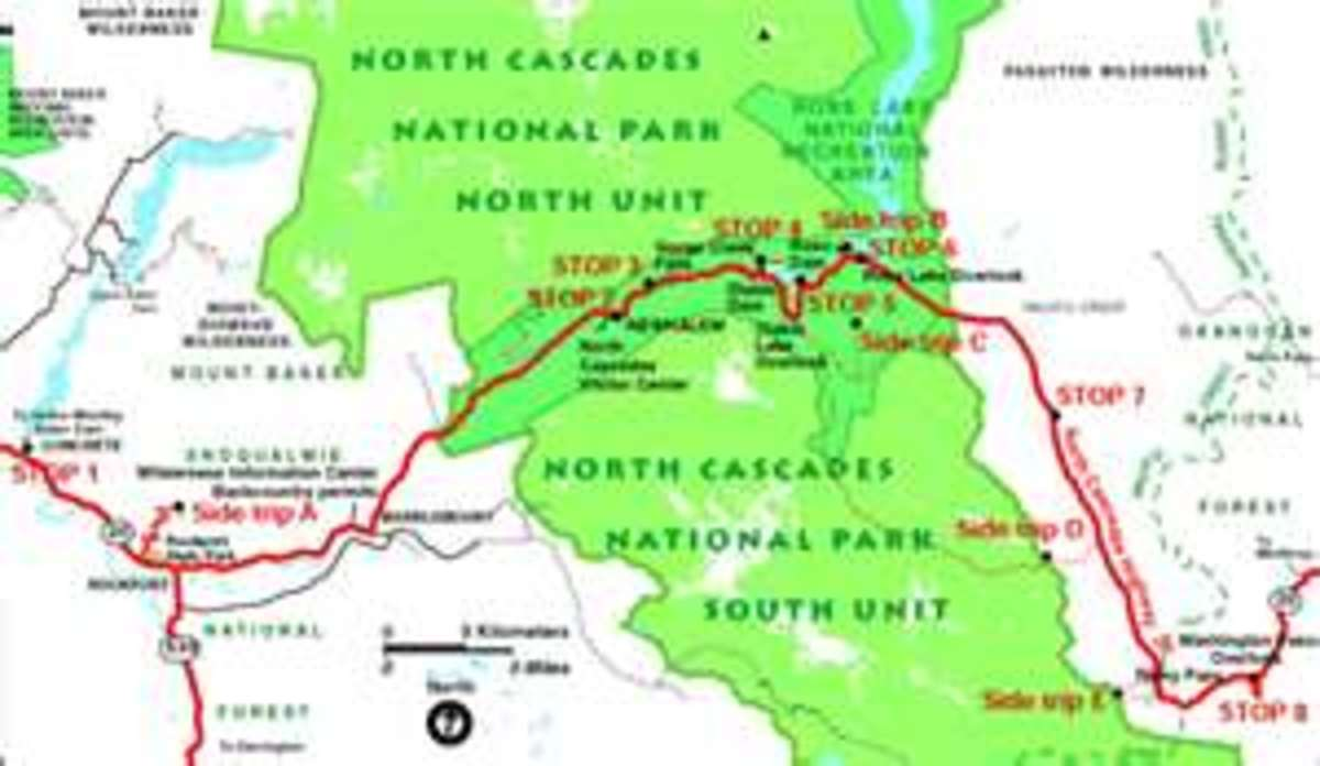 North Cascades route
