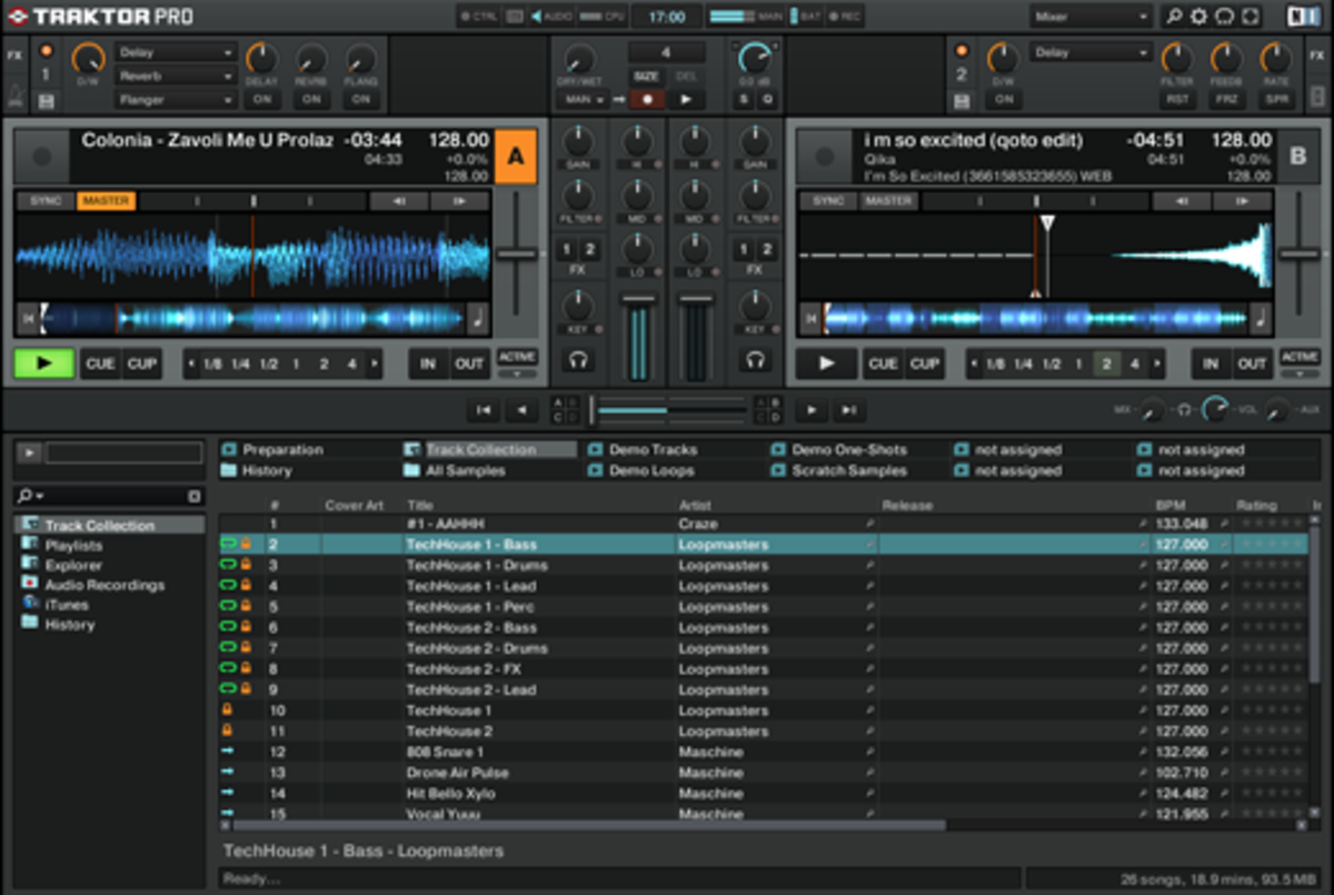Traktor Interface